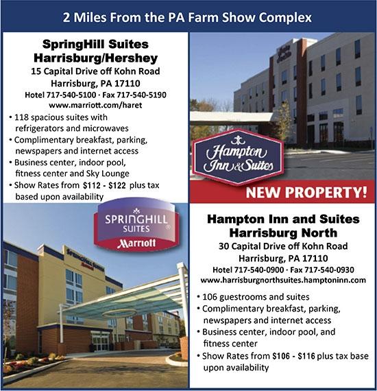 2017 Hampton Inn and Marriot
